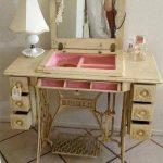 Туалетный столик из швейной машинки своими руками