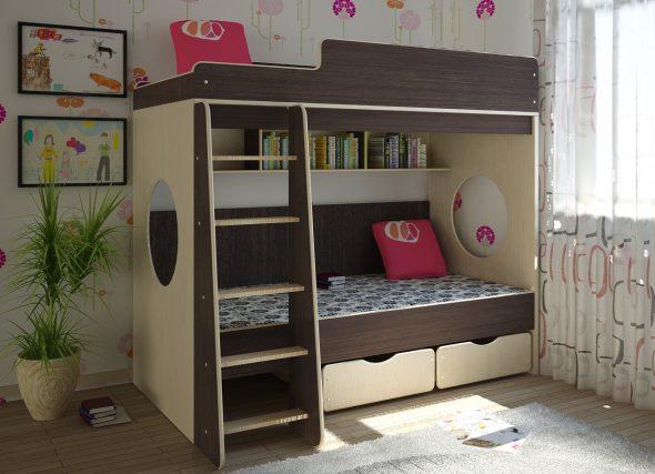 Удобная и безопасная кровать
