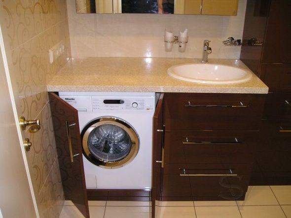 Удобный шкаф для стиральной машины