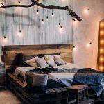 Украшение спальни подсветкой