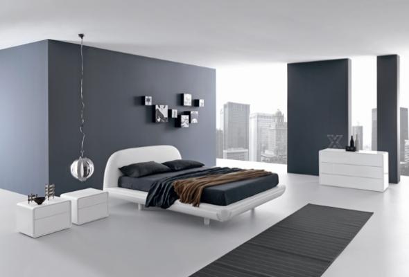 Ультрасовременная спальня