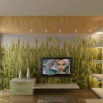 Восточная или юго-восточная гостиная «предпочитают» зеленые тона