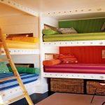 Зонирование цветом каждого спального места