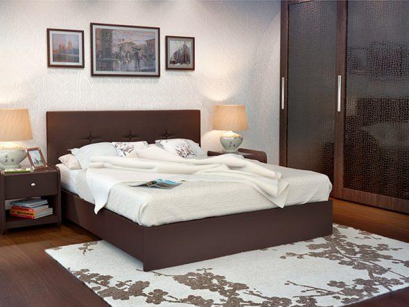 Аккуратная мягкая кровать Maya