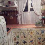 Декупаж в виде картинок с кухонными принадлежностями