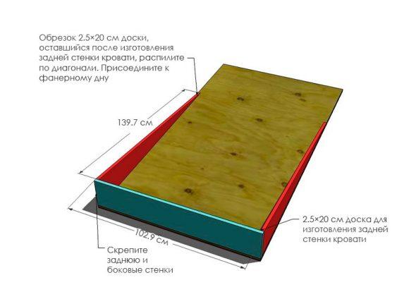 Основание кровати трансформера