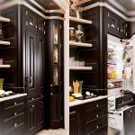 Элитная кухня с встроенной мебелью
