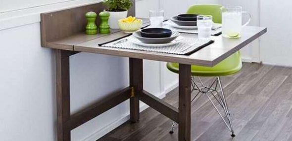 Кухонный вариант стола-трансформера