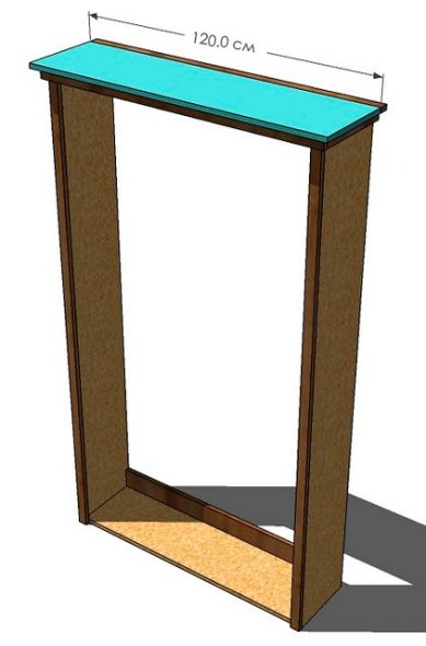 Готовый каркас шкафа-кровати