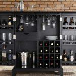 Хранение вина в интерьере