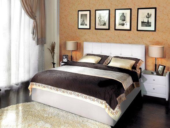 Классический дизайн кровати Marta