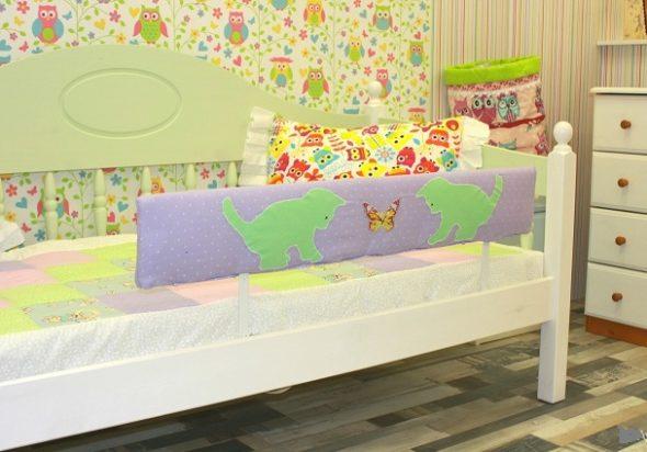 Валики для детской кроватки своими руками
