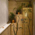 Очень вместительный шкаф, оформленный в «японском стиле»