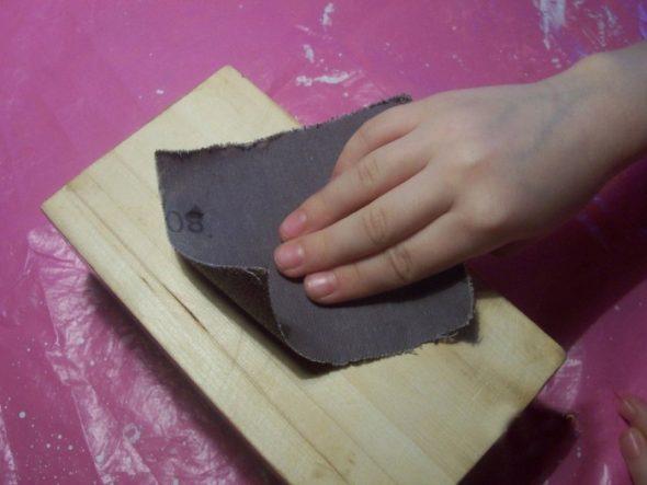 Очищаем поверхности