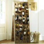 Оригинальная стойка для хранения вин
