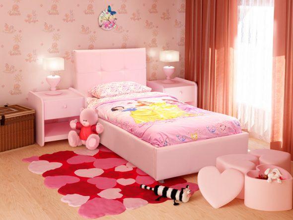 Прочная уютная кровать Leo