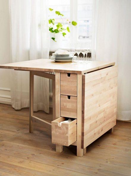Раскладной стол для кухни или гостиной