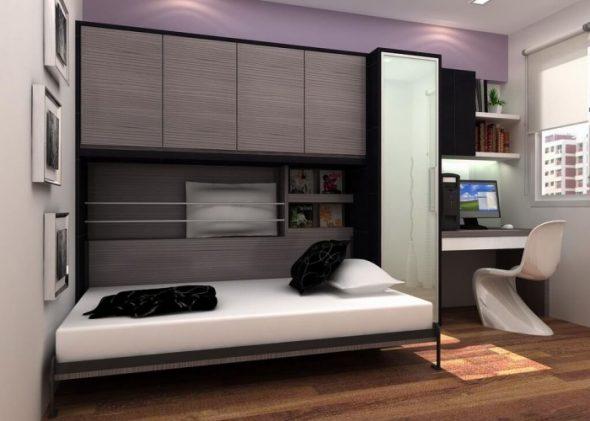 Удобьная шкаф-кровать