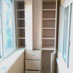Система хранения на балконе