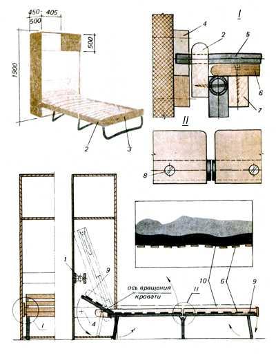 Создаем кровать-трансформер
