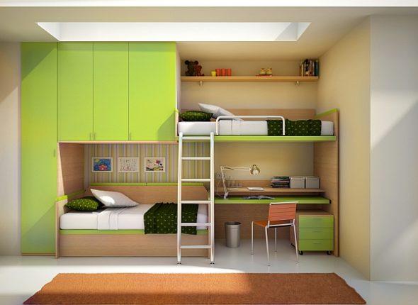 Кровати со встроенным письменным столом