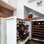 Выдвижной ящик для хранения вина