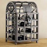 Железный шкафчик для вина с замком