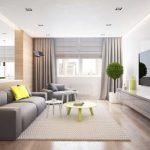 Практичная мебель в гостиной