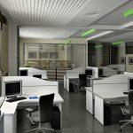 Расположение столов в офисе