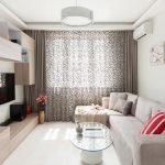 Современная мебель в гостиной
