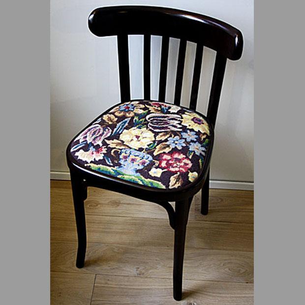 Как сделать потёртый стул