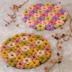 Цветочные чехлы на табуретки