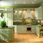 Декор кухни в оливковом цвете своими руками