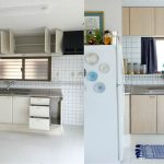 Фото кухни до и после реставрации пленкой