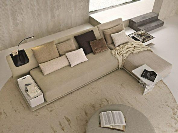 Функциональный угловой диван