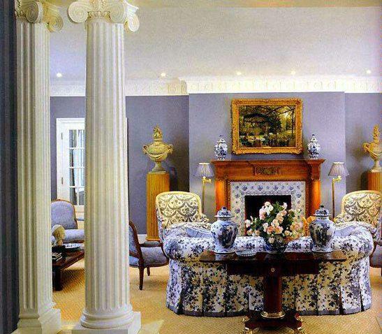 Гостиная с одним диваном