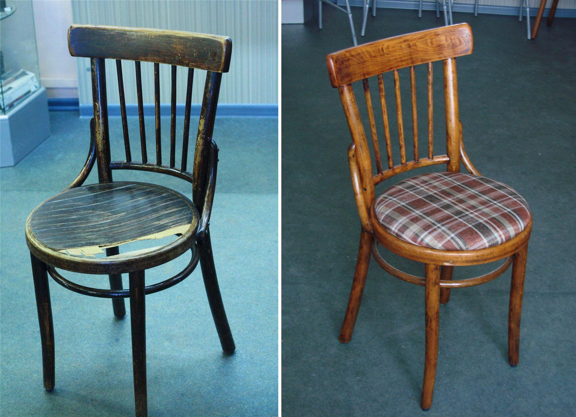Как отремонтировать деревянные стулья своими руками