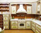 Красивые кухонные шкафчики