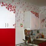 Красивые виниловые наклейку на кухне