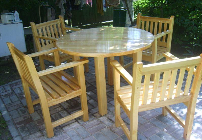 Реставрируем старый круглый стол своими руками фото 529