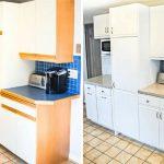 Кухонная мебель до и после ремонта