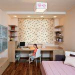 Милая комната для девочек с рабочими местами