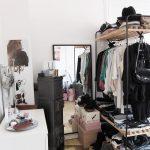 Мини-гардеробная для девушки