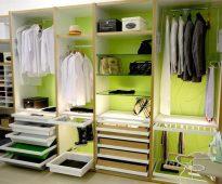 Обустройство гардеробной комнаты на любой вкус