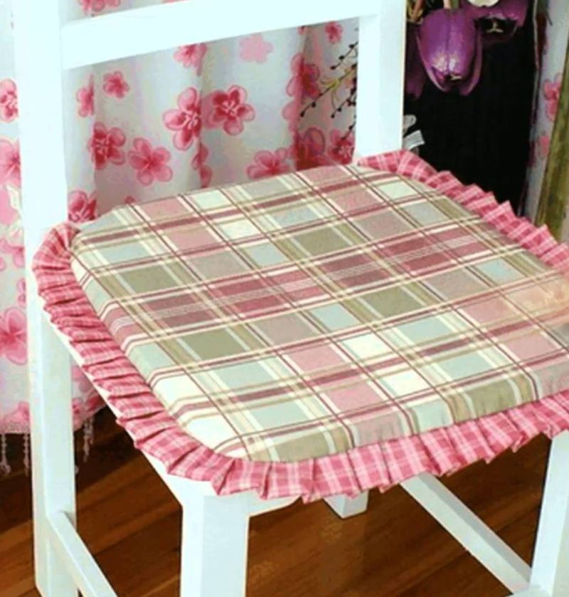Подушка на кухонный стул своими руками 85