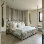 Подвесная кровать в современном интерьере