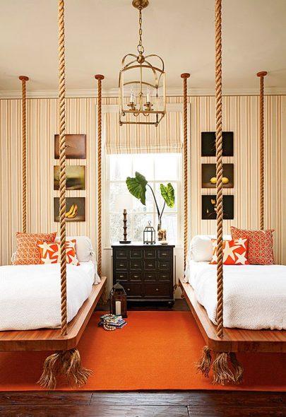 Подвесные кровати для детей