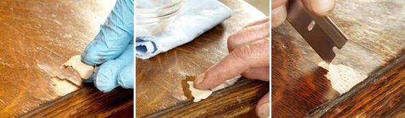 Заделываем трещины и сколы