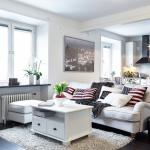 Пространство между мебелью – залог функционального интерьера