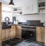 Шикарная стильная кухня